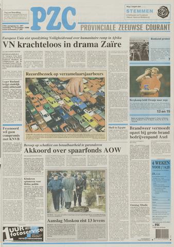 Provinciale Zeeuwse Courant 1996-11-11