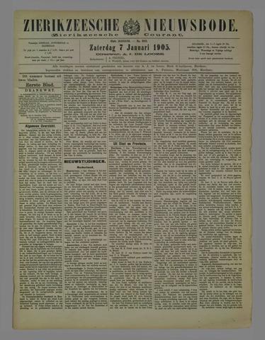 Zierikzeesche Nieuwsbode 1905-01-07