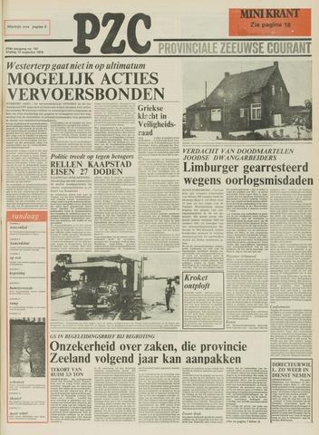 Provinciale Zeeuwse Courant 1976-08-13