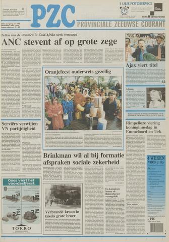 Provinciale Zeeuwse Courant 1994-05-02