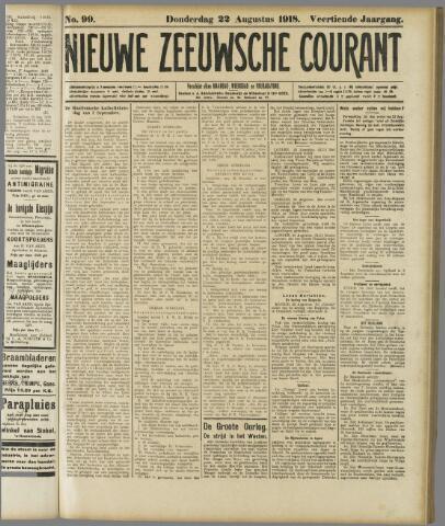 Nieuwe Zeeuwsche Courant 1918-08-22