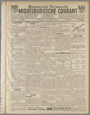 Middelburgsche Courant 1932-12-03