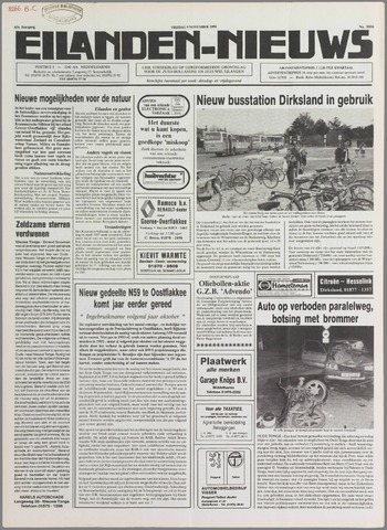 Eilanden-nieuws. Christelijk streekblad op gereformeerde grondslag 1990-11-09