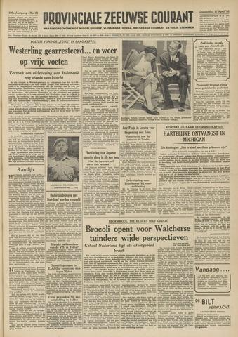 Provinciale Zeeuwse Courant 1952-04-17