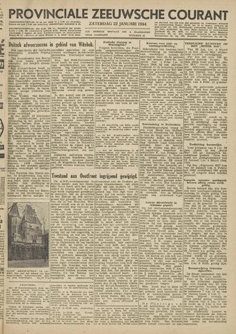 Provinciale Zeeuwse Courant 1944-01-22