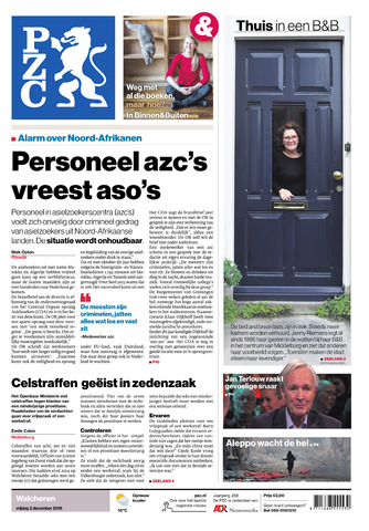 Provinciale Zeeuwse Courant 2016-12-02
