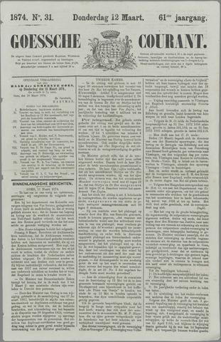 Goessche Courant 1874-03-12