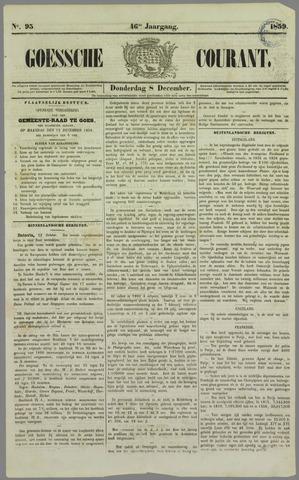 Goessche Courant 1859-12-08