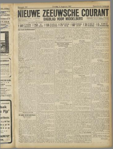 Nieuwe Zeeuwsche Courant 1921-08-09