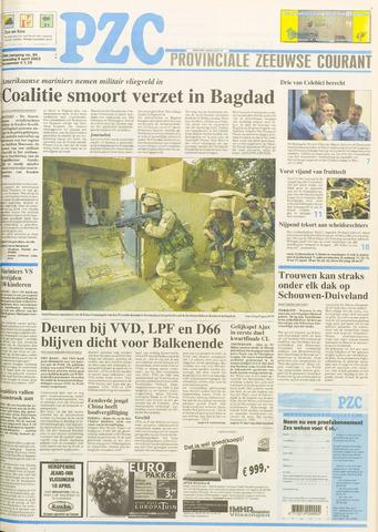 Provinciale Zeeuwse Courant 2003-04-09