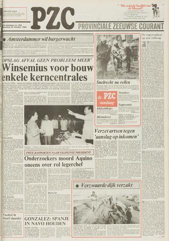 Provinciale Zeeuwse Courant 1984-10-24