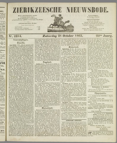 Zierikzeesche Nieuwsbode 1865-10-28