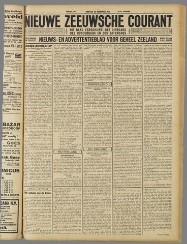 Nieuwe Zeeuwsche Courant 1931-12-22