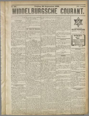 Middelburgsche Courant 1922-09-22