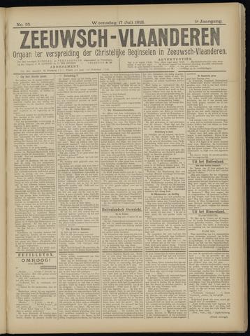 Luctor et Emergo. Antirevolutionair nieuws- en advertentieblad voor Zeeland / Zeeuwsch-Vlaanderen. Orgaan ter verspreiding van de christelijke beginselen in Zeeuwsch-Vlaanderen 1918-07-17