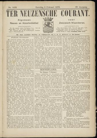 Ter Neuzensche Courant. Algemeen Nieuws- en Advertentieblad voor Zeeuwsch-Vlaanderen / Neuzensche Courant ... (idem) / (Algemeen) nieuws en advertentieblad voor Zeeuwsch-Vlaanderen 1879-02-08