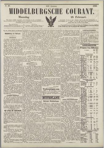Middelburgsche Courant 1901-02-25