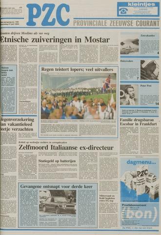 Provinciale Zeeuwse Courant 1993-07-21