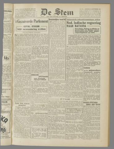 de Stem 1945-09-25