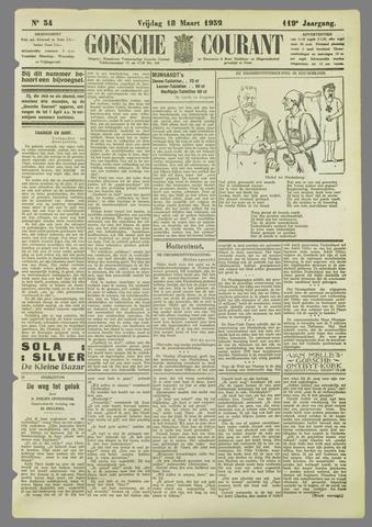 Goessche Courant 1932-03-18