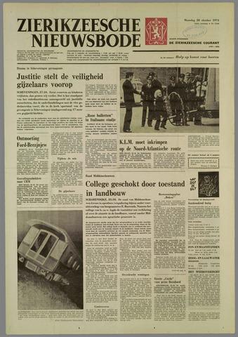Zierikzeesche Nieuwsbode 1974-10-28
