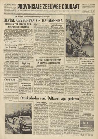 Provinciale Zeeuwse Courant 1958-05-12