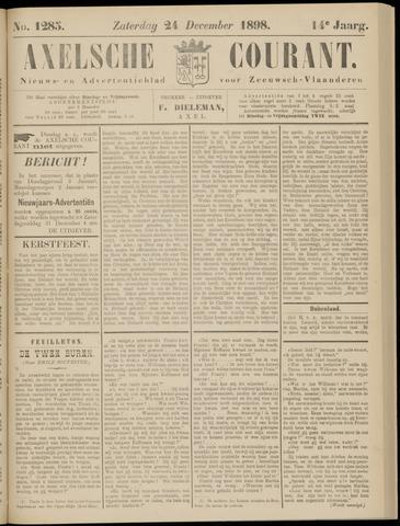 Axelsche Courant 1898-12-24