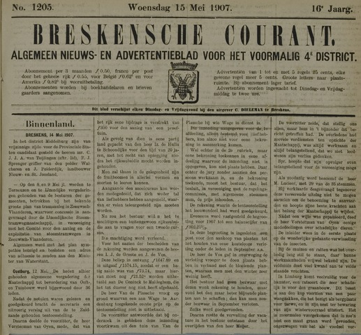 Breskensche Courant 1907-05-15