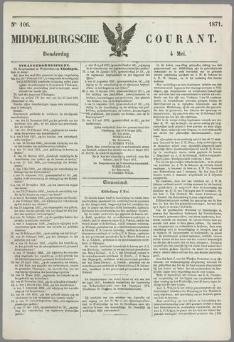 Middelburgsche Courant 1871-05-04