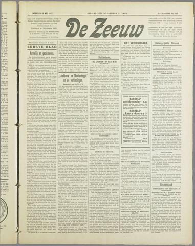De Zeeuw. Christelijk-historisch nieuwsblad voor Zeeland 1937-05-15