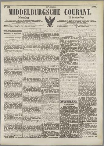 Middelburgsche Courant 1899-09-11