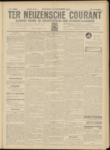 Ter Neuzensche Courant. Algemeen Nieuws- en Advertentieblad voor Zeeuwsch-Vlaanderen / Neuzensche Courant ... (idem) / (Algemeen) nieuws en advertentieblad voor Zeeuwsch-Vlaanderen 1937-11-22