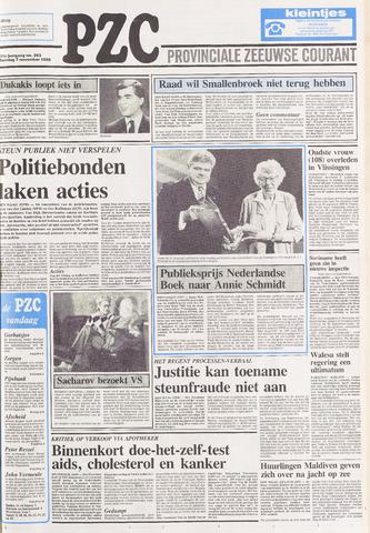Provinciale Zeeuwse Courant 1988-11-07