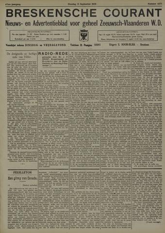 Breskensche Courant 1938-09-13