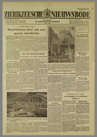 Zierikzeesche Nieuwsbode 1960-02-19