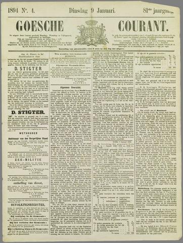 Goessche Courant 1894-01-09