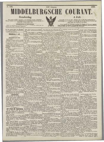 Middelburgsche Courant 1901-07-04