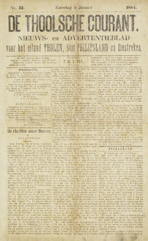 Ierseksche en Thoolsche Courant 1884
