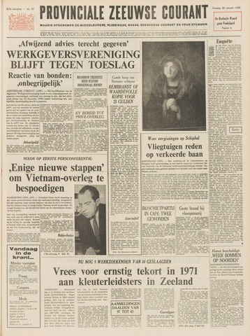Provinciale Zeeuwse Courant 1969-01-28