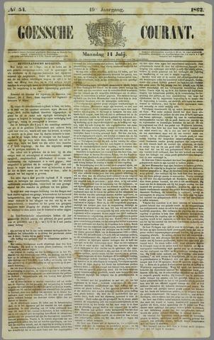 Goessche Courant 1862-07-14