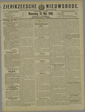 Zierikzeesche Nieuwsbode 1916-05-10