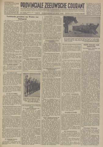 Provinciale Zeeuwse Courant 1942-08-27