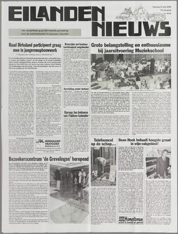 Eilanden-nieuws. Christelijk streekblad op gereformeerde grondslag 2000-06-27