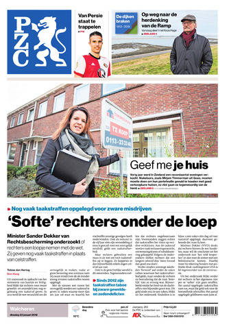 Provinciale Zeeuwse Courant 2018-01-23