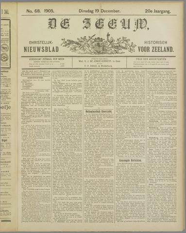 De Zeeuw. Christelijk-historisch nieuwsblad voor Zeeland 1905-12-19