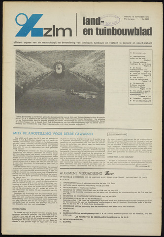 Zeeuwsch landbouwblad ... ZLM land- en tuinbouwblad 1973-11-16