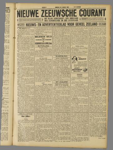 Nieuwe Zeeuwsche Courant 1929-01-22
