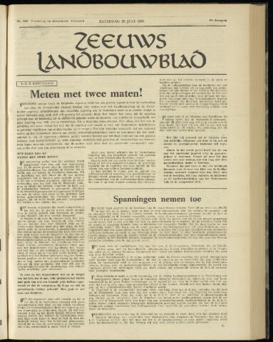 Zeeuwsch landbouwblad ... ZLM land- en tuinbouwblad 1961-07-29