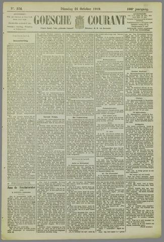 Goessche Courant 1919-10-21