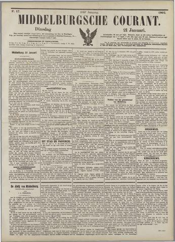 Middelburgsche Courant 1902-01-21